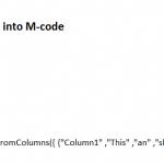 M-Code teilen in PowerBI und Power Query