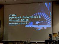 SQL Server Workshops, Seminare und Vorträge - Vortrag zu Datenbank-Performance