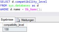 Kompatibilitätslevel OLTP SQL sqlXpert Blog
