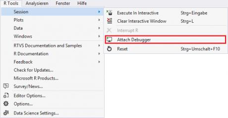 Visual Studio - Attach Debugger