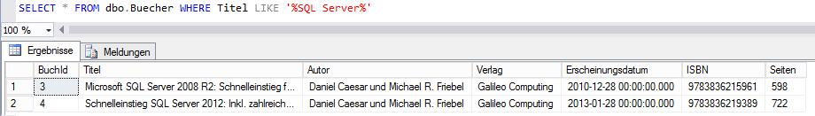 in-memory-table select Buchautoren Daniel Caesar Michael Friebel SQL sqlXpert Blog
