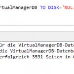 So beschleunigen Sie Ihre SQL Server Backups