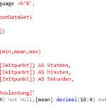 How-to: Statistiksprache R trifft auf den MS SQL Server
